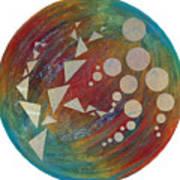 Crop Circles Abstract Art Print
