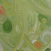 Crop Circles Yellow Analog 2 Art Print