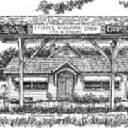 Crosby's Machine Shop Art Print