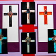 Cross Collage II Art Print