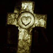 Cross My Heart Art Print