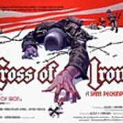 Cross Of Iron Theatrical Poster 1977 Art Print