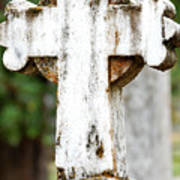 Cross Of Stone Art Print