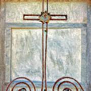 Crosses Voided - Artistic Art Print