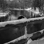 Crossing Cedar Creek Art Print