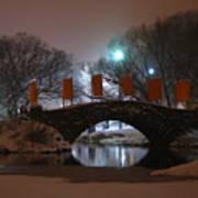 Crossing Gapstow Bridge Art Print