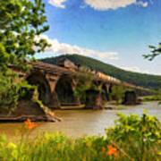 Crossing The Susquehanna Art Print