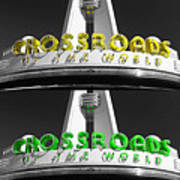 Crossroads Panorama Art Print