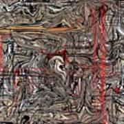 Crosswired Art Print