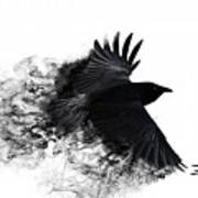 Crow Wallpaper Art Print By Andy Maryanto