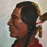 Crow Warrior Art Print