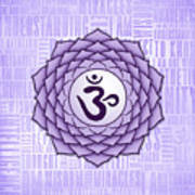 Crown Chakra - Awareness Art Print