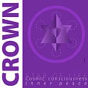 Crown Chakra Series Three Art Print