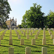 Crown Hill National Cemetery, Indianapolis, Indiana Art Print