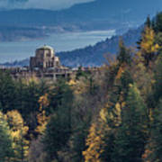 Crown Point In The Fall Art Print