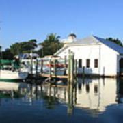 Crowninshield Boat House Art Print