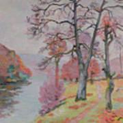 Crozant Brittany Art Print