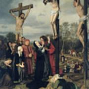 Crucifixion Art Print by Eduard Karl Franz von Gebhardt