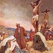 Crucifixion Art Print by William Brassey Hole