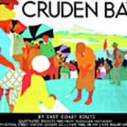 Cruden Bay, Golf Club, East Coast Route Art Print