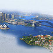 Cruise Sydney Art Print
