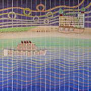 Cruise Vacation Destination Art Print