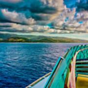 Cruising Hispaniola Art Print