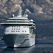 Cruising The Adriatic Sea Art Print