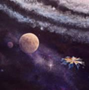Cruising The Stars Art Print