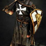 Crusader Warrior - 02 Art Print
