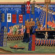 Crusades 14th Century Art Print
