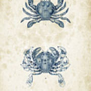 Crustaceans - 1825 - 05 Art Print