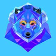 Crystal Bear - 90 Art Print