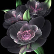 Crystal Bouquet Art Print