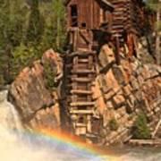 Crystal Mill Rainbow Art Print