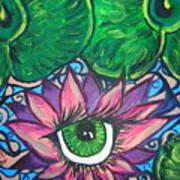Crystal Ponds Art Print