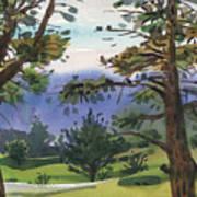 Crystal Springs Fairway Art Print