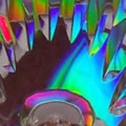 Crystal Teeth Art Print