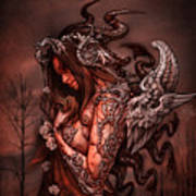 Cthluhu Princess Art Print