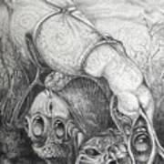 Ctulhu Seedpods Art Print