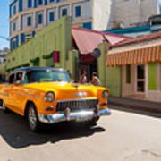 Classic Cuba Cars IIi Art Print