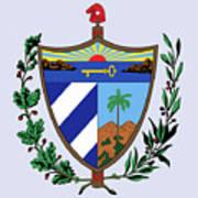 Cuba Coat Of Arms Art Print