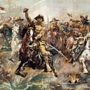 Cuba: Rough Riders, 1898 Art Print