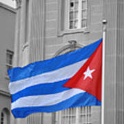 Cuban Flag Art Print