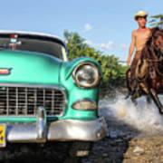 Cuban Horsepower Art Print