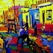 Cuban Village Art Print
