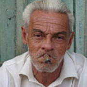 Cuba's Faces Art Print