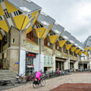 Cube Houses In Rotterdam Art Print