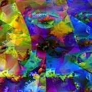 Cubed Fractals Art Print