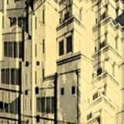 Cubic Building Art Print